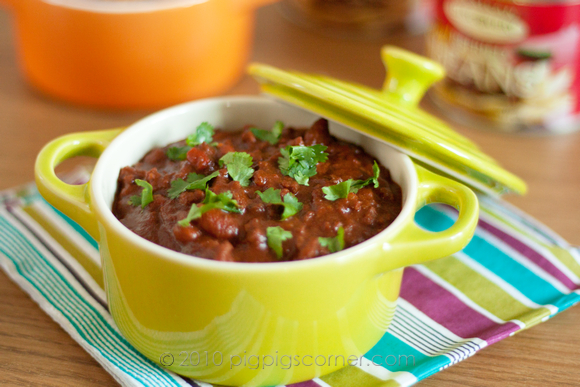 Chocolate, Stout & Ancho Chili Con Carne