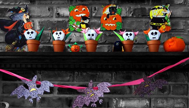halloween bw