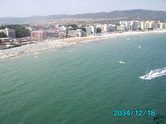 yes i do it (divingoff) Tags: sky mountains beach boats jet sunny bulgaria 2008 varna jetsky
