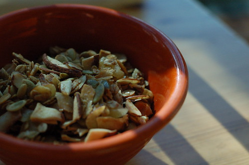 pear ginger granola