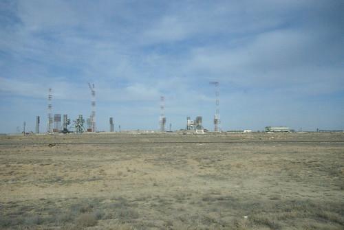 N-1 Launch Pads at Baikonur Cosmodrome