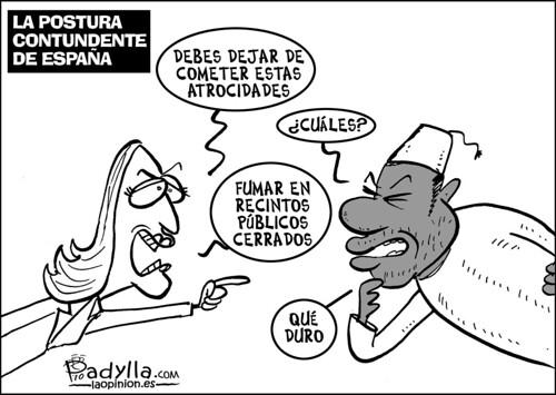 Padylla_2010_11_09_La postura contundente de España