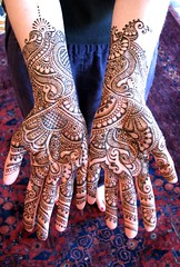 bride's henna'd hands (HennaLounge) Tags: wedding mill temple oakland bride bay berkeley sunnyvale hands san francisco lafayette vishnu indian marin sonoma sandeep peacock fremont molly east valley napa sikh bridal henna montclair karnataka alameda sausalito mehndi tiburon rockridge kumar mccracken kokani wwwhennaloungecom