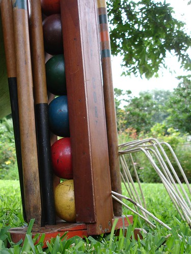 up for croquet?