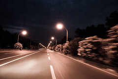 Open road song (donmimi83 ( away )) Tags: road street tree night nikon photographer image class diamond yesterday nite 2007 abigfave donmimi83 imderanged