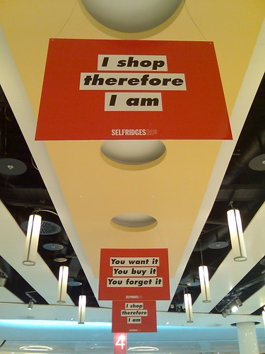 I shop, therefore I am
