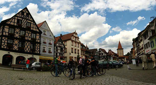 Town center in Gengenbach, Germany