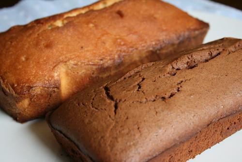 パウンドケーキ2種
