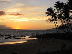 An amazing Maui sunset. (07/05/07)