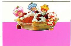 Blank self mailer (Starshyne09) Tags: purple card 1980s strawberryshortcake strawberrypie raspberrytart plumpudding huckleberrypie