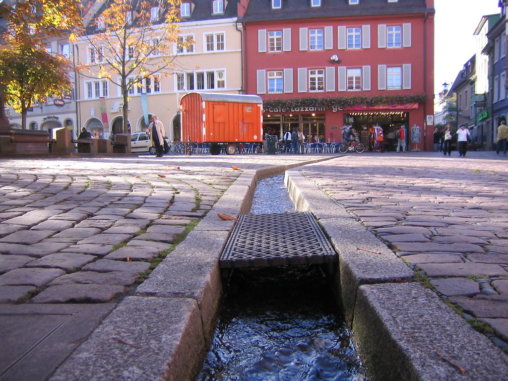 The Baechle Streams in Freiburg