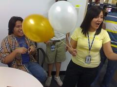 Hey I have balloons?