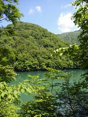 Lake Juniko (TRUE 2 DEATH) Tags: blue lake green nature water japan landscape geotagged 1999 clear aomori  nippon lush prefecture tohoku nihon 2007 fukaura  japn iwasaki aomoriken seaofjapan michinoku iwasakivillage  aomoriprefecture   lakejuniko juniko  nihonkoku nipponkoku japan2007 imgp1647  nishitsugaru  thoku thokuchih  thokuregion geo:lon=139976034 geo:lat=40566046