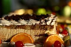 Ramadan Mubarak (maapu) Tags: food orange cake dessert cherries dish sweet chocolate icing ramadan slices canon400d ramadanmubarak maapu mauroof mauroofkhaleel