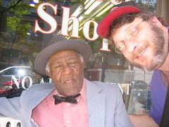Shakey Jake and me. (MarkDilley) Tags: me shakeyjake