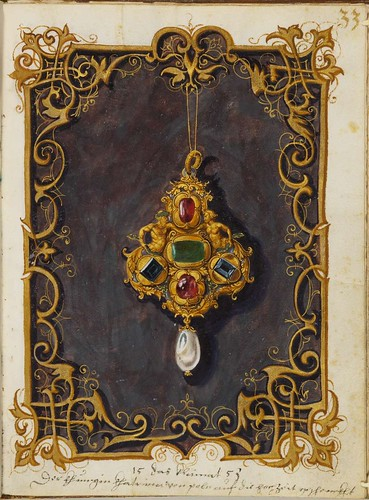Jewel Book of the Duchess Anna of Bavaria (1550s) o