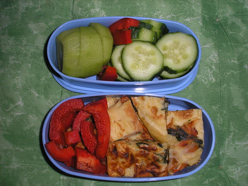 Quick travel bento
