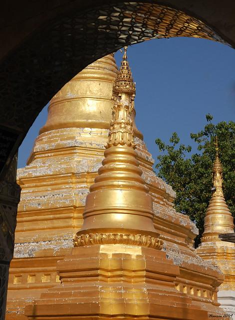 Temple Beauty from A Window .....Myanmar