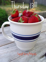 cupful of strawberries