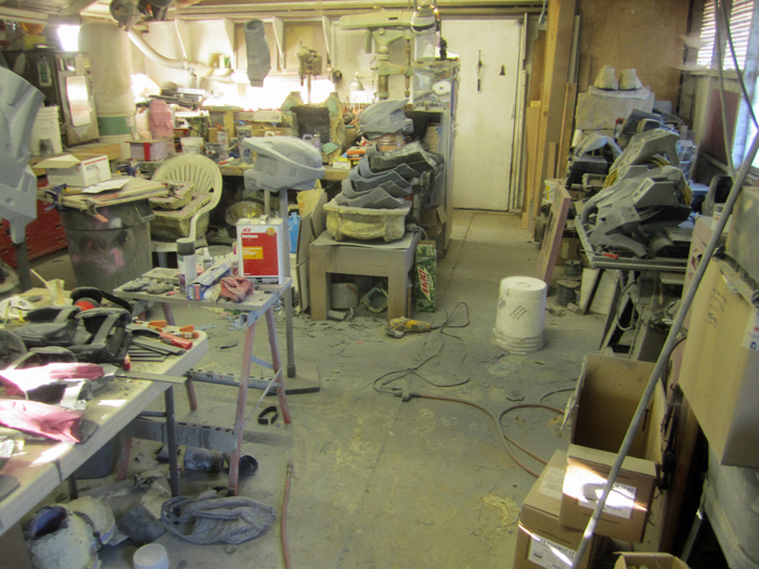Workshop Mess