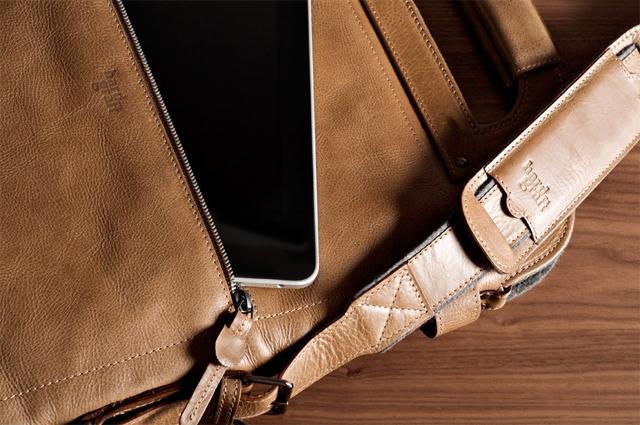 Hard Graft 2Unfold laptop bag 08
