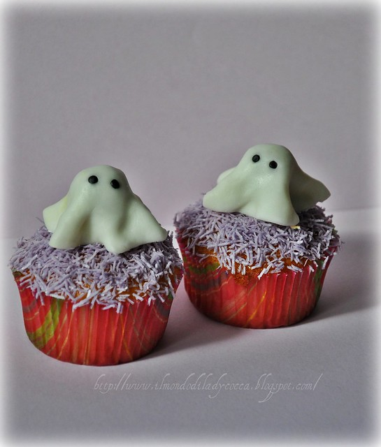 cupcake per Halloween....Fantasmini
