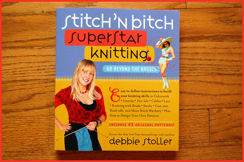 stitch and bitch superstar knitting by debbie stoller