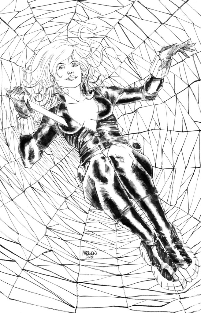 Black Widow by Kevin Mellon
