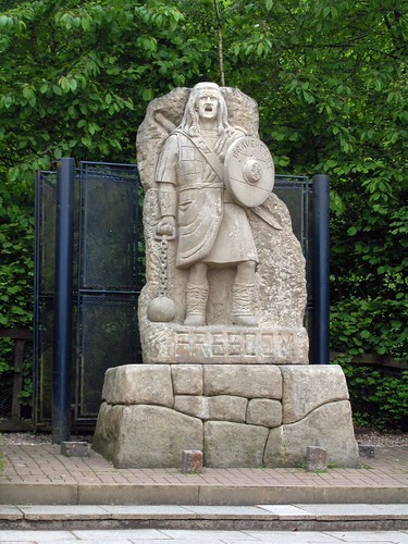 william wallace mel gibson. la estatua de Mel Gibson,