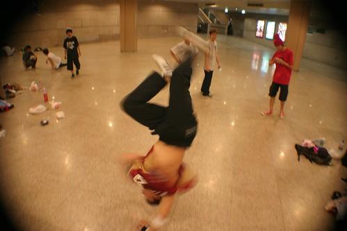 Hardest breakdance move