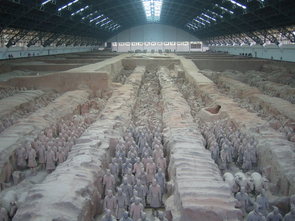 "The ""terra cotta army"""