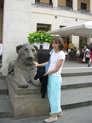 I leoni del Caffé Pedrocchi