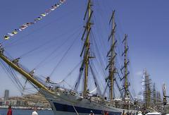MIR () Russia (DeFerrol) Tags: mediterranean mediterraneo barco ship russia sail tallship races mir rusia velero