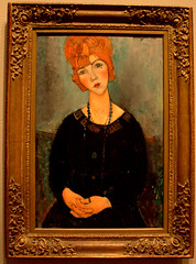 Woman with a Necklace, 1917 (Ramon2002) Tags: chicago art painting oil artinstituteofchicago 1917 amedeo modigliani womanwithanecklace ramon2002