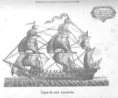 La Garzota, fragata del Rey