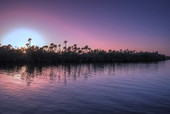 Sunset (Kimberly Dickinson) Tags: pink sunset sky color nature water beauty clouds reflections river landscape scenery purple florida treasurecoast indianriver skynature anawesomeshot superaplus aplusphoto