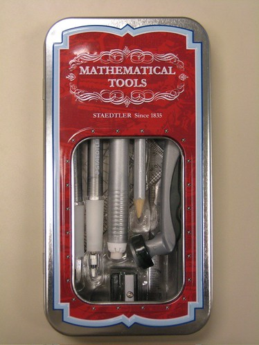 Staedtler Mathematical Tools, in tin case