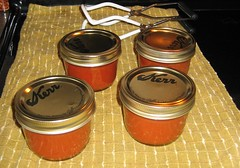 Canned Heirloom Tomato Sauce