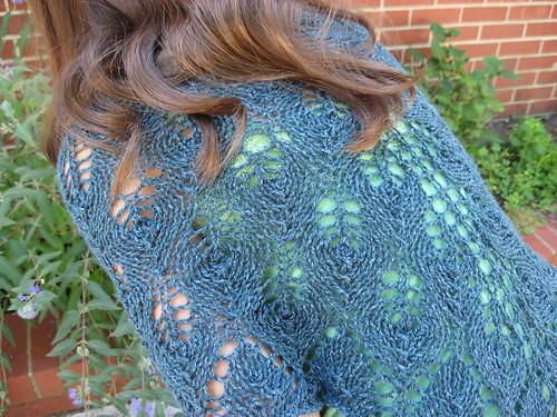 Shetland Triangle in Silky Wool