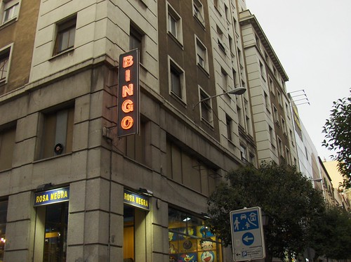 A los madrileños les gustan el bingo