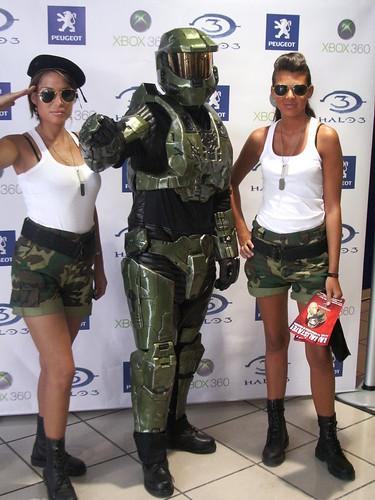"""Presentación de """"Halo 3"""" en Madrid"""