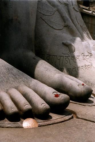 Sravanabelagola-foot