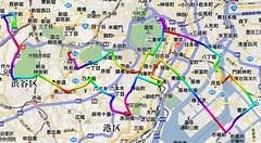 TokyoCityCycling2007_course