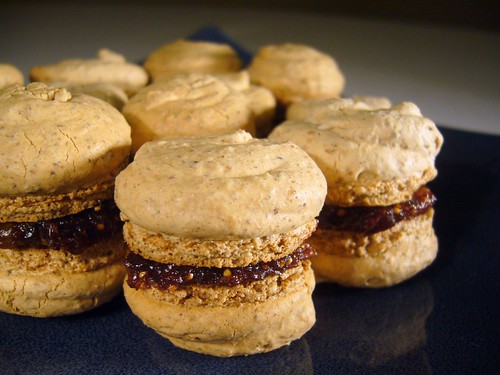 Anise & Fig Macarons