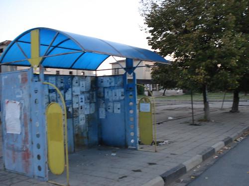 Bushaltestelle in Svilengrad