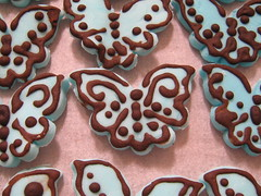 IMG_2618 (Cupcake Mania) Tags: wedding butterflies toppers sugarpaste
