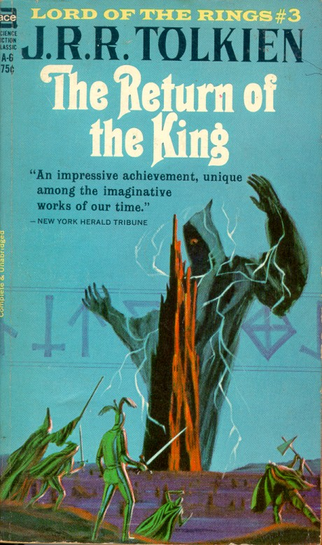 Jack Gaughan Cover Art - J.R.R. Tolkien - Return Of The King