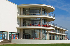 Rear of the De La Warr Pavilion Bexhill On Sea (Daves Portfolio) Tags: building construction artgallery theatre contemporary eastsussex modernist listedbuilding bexhill bexhillonsea delawarrpavilion grade1listed gradeilisted artsvenue