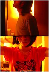 limerent (*eatyourcarrots) Tags: red portrait color luz yellow shop rojo couple pareja retrato amarillo tienda ligth polyester carrots seniorita eyc eatyourcarrots himnofeda senioritapolyester zanaorias