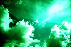 my green sky (anapaulah) Tags: sky green clouds lomo lca xpro top20xpro greensky kodakektachromee100sw